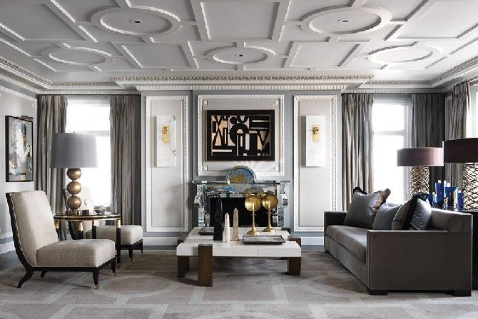 Living Area| SOPHISTICATED LIVING ROOM DESIGNS BY JEAN-LOUIS DENIOT | See more at http://delightfull.eu/blog/2015/11/sophisticated-living-room-designs-jean-louis-deniot/: