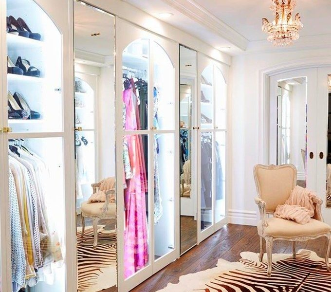 To Have and To Hold: A Glam Closet