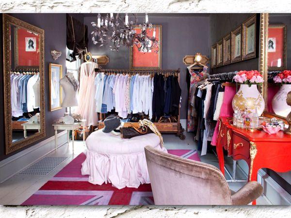 Spare room closet inspiration.: