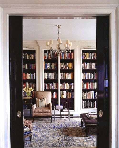 South Shore Decorating Blog: Home Libraries -- The Ultimate Luxury -- 30 Stunning Inspirational Images: