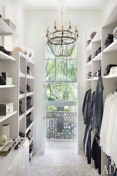 To Die For His and Her Closets