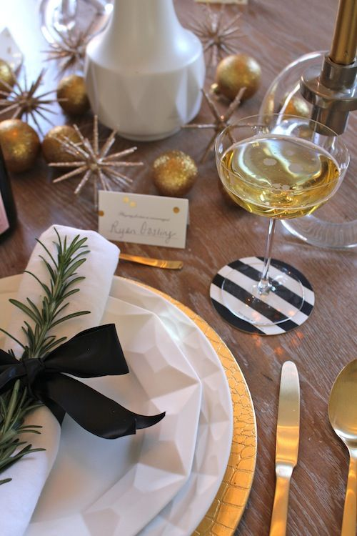 Holiday entertaining via Elements of Style with Kate Spade New York.: