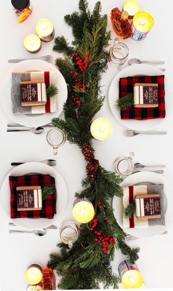 There is nothing like a festive table to get you in the mood for the holidays. Whether you are throwing a big bash, a dinner party or having a small family dinner, consider dressing your table up. Here is some inspiration from around the web to get your wheels spinning!: