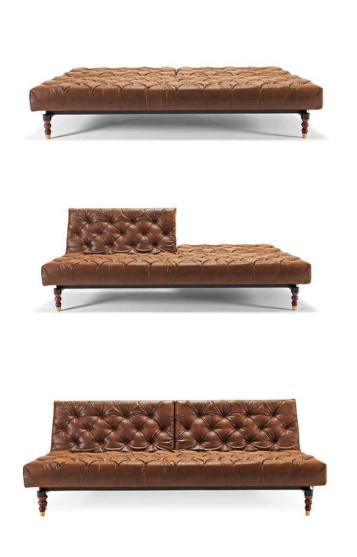 Multifunctionality in a classic sofa—what more could your living room ask for? This sofa features the classic tufted styling with an easy-to-convert sofa bed bonus. High-class, and high-function, too!: