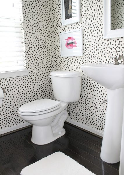 Updating My Powder Room With StainMaster
