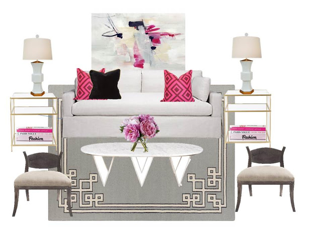 A Comfy, Sophisticated Design Board