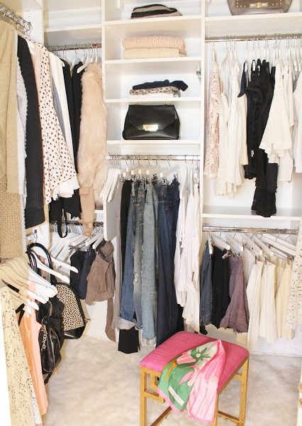 My Master Bedroom Closet Reveal with California Closets (Before & After)