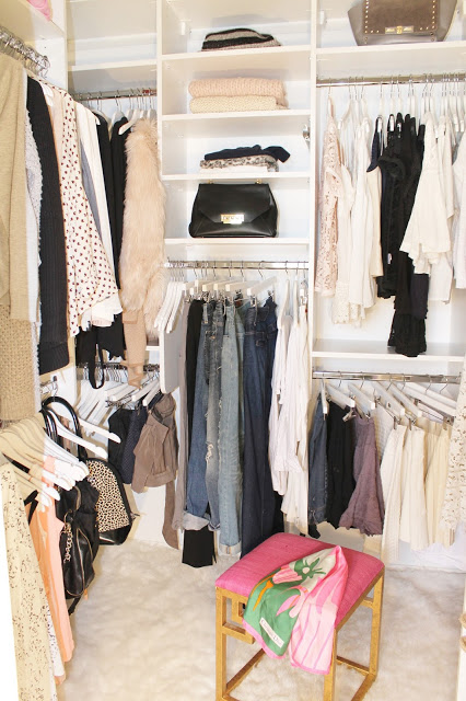 My Master Bedroom Closet Reveal With California Closets Before After
