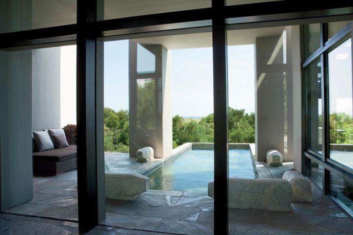 kiawah island house poolside