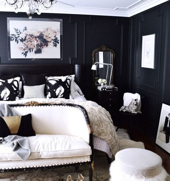 Dramatic Bedrooms