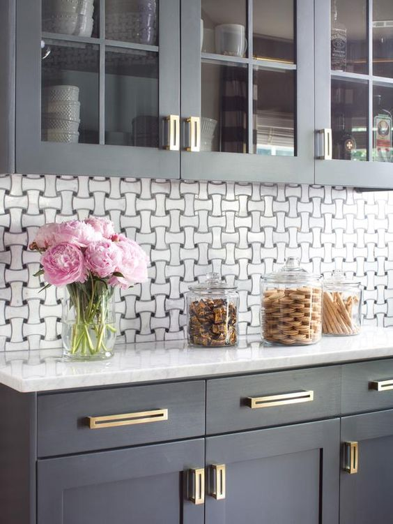 Modern Gray Kitchen Makeover : Kitchen Remodeling : HGTV Remodels:
