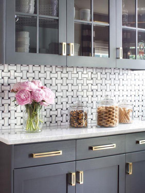 Modern Gray Kitchen Makeover : Kitchen Remodeling : HGTV Remodels: