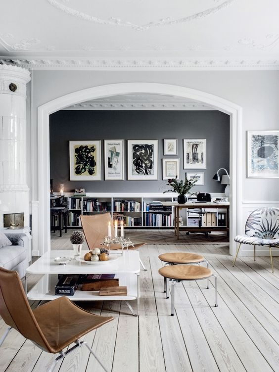 BEAUTIFUL GRAY TONES IN A DANISH HOME | THE STYLE FILES: