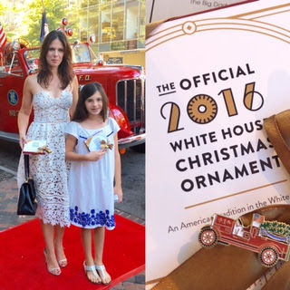 White House 2016 Ornament Unveiling Party Pics