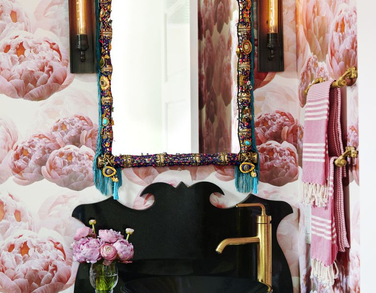 Wallpapered Powder Rooms That Will Make You Decorate Now