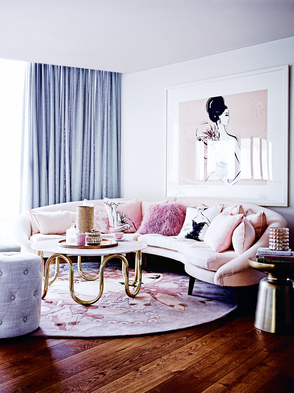 House tour: a fantastically fashionable apartment by illustrator Megan Hess - Vogue Living