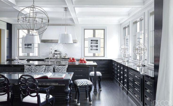 Image result for black kitchen