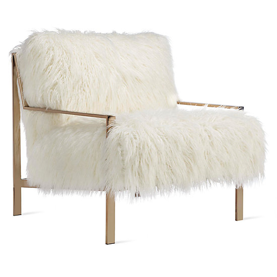 Axel Fur Accent Chair