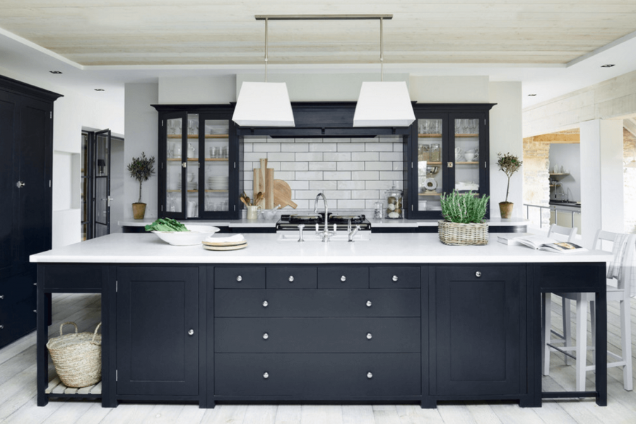 Black Hued Kitchens You'll Have to Look Twice At