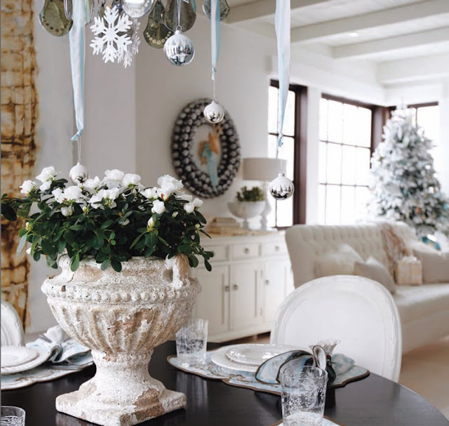 Image result for white decor for christmas