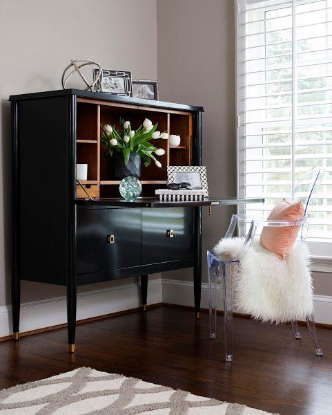 From the JWS Design Vault: A Feminine Living Room Retreat
