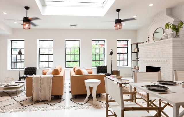 Killer Combo: Black, White, & Caramel : Shop My Soho Design For Less