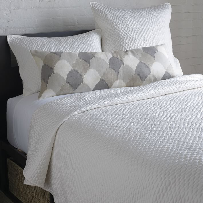 Lexington Coverlet + Shams - Pearl