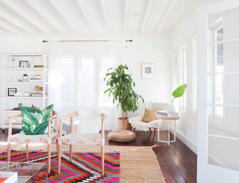 A Southern California Bungalow; Our Favorite Rug Picks