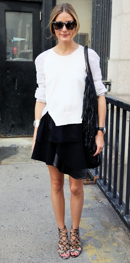 Image result for olivia palermo white outfit
