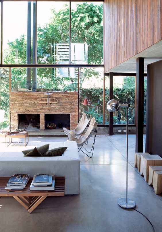 window walls: