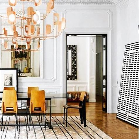 19th Century Parisian apartment photographed by @gaelleleboulicautpics: