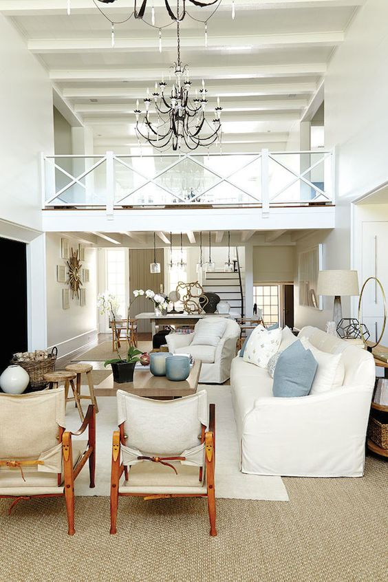 Southern Living Idea House 2014 Open Living Room: