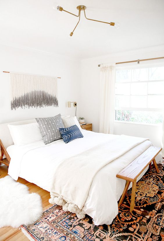 Sarah Sherman Samuel:master bedroom / nursery nook makeover   Sarah Sherman Samuel: