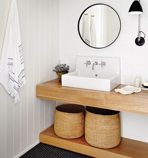 Get the Look: Awesome Bathrooms with Floating Vanities