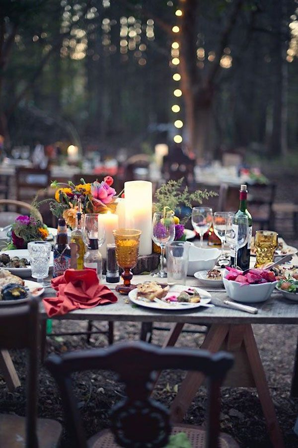 Image result for outdoor party elle decor