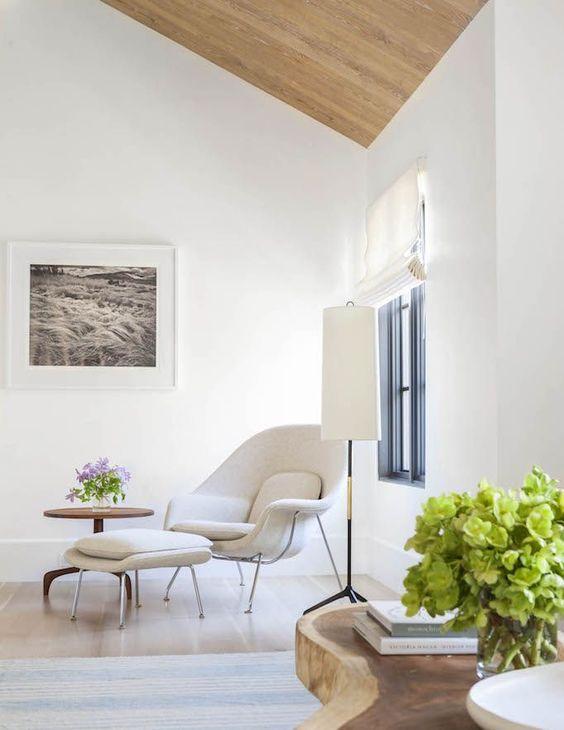 modern mediterranean seating nook: