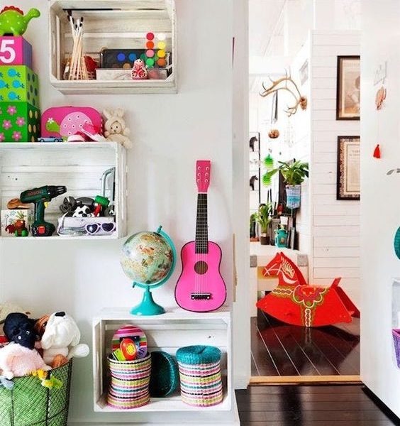 Colorful Kid Spaces