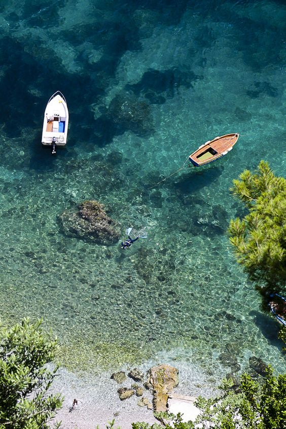 "Amalfi Coast, Italy • ""Snorkeling in Amafi"" by Mike Perkins on http://500px.com/photo/1141418:"