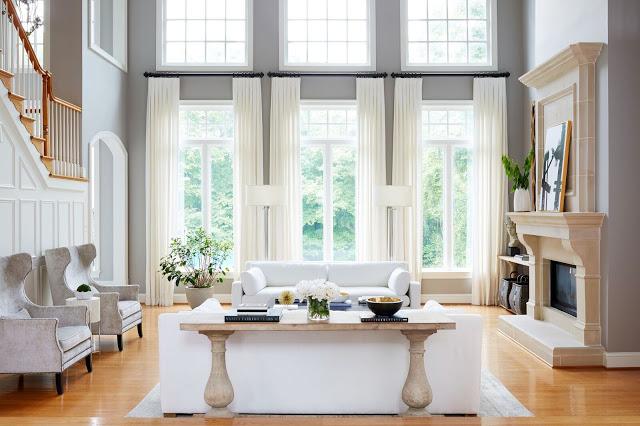JWS Interiors' Latest Living Room Makeover With Rue Magazine