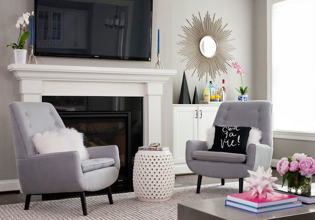 Get the Look of Our Modern Living Room Project