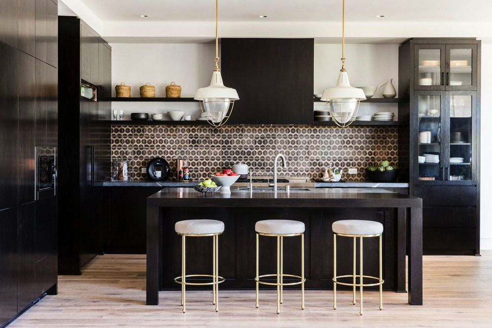 Image result for disc interiors black kitchen