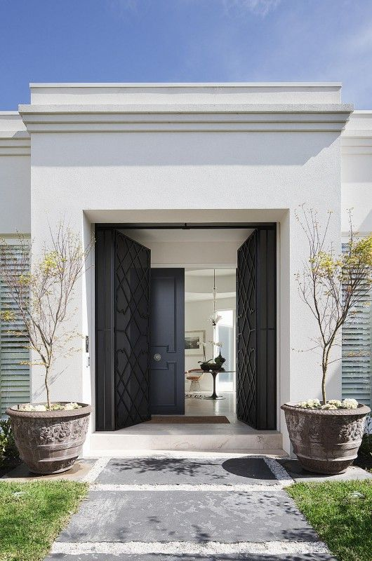 Entrance - Australia Modern Home Design by David Hicks