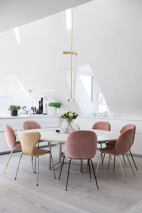 Blush chairs